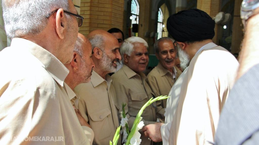 دیدار و تبریک مردمی در روز عید غدیرخم