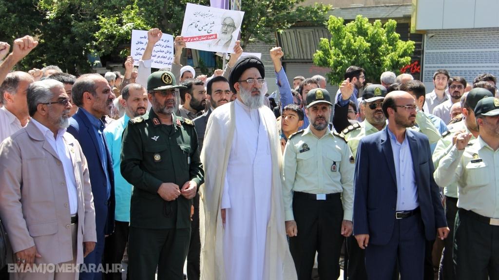 اعلام حمایت البرزنشینان از عالم مجاهد بحرین و مردم این کشور