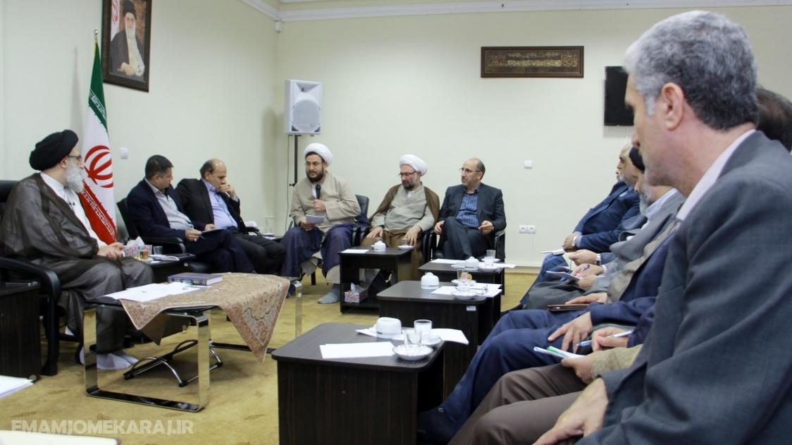 جلسه شورای زکات استان البرز