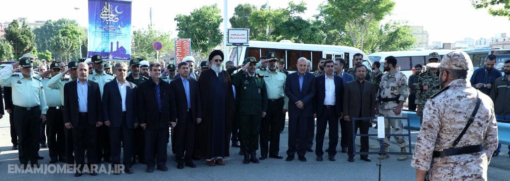 صبحگاه مشترک نیروهای مسلح استان برگزار شد