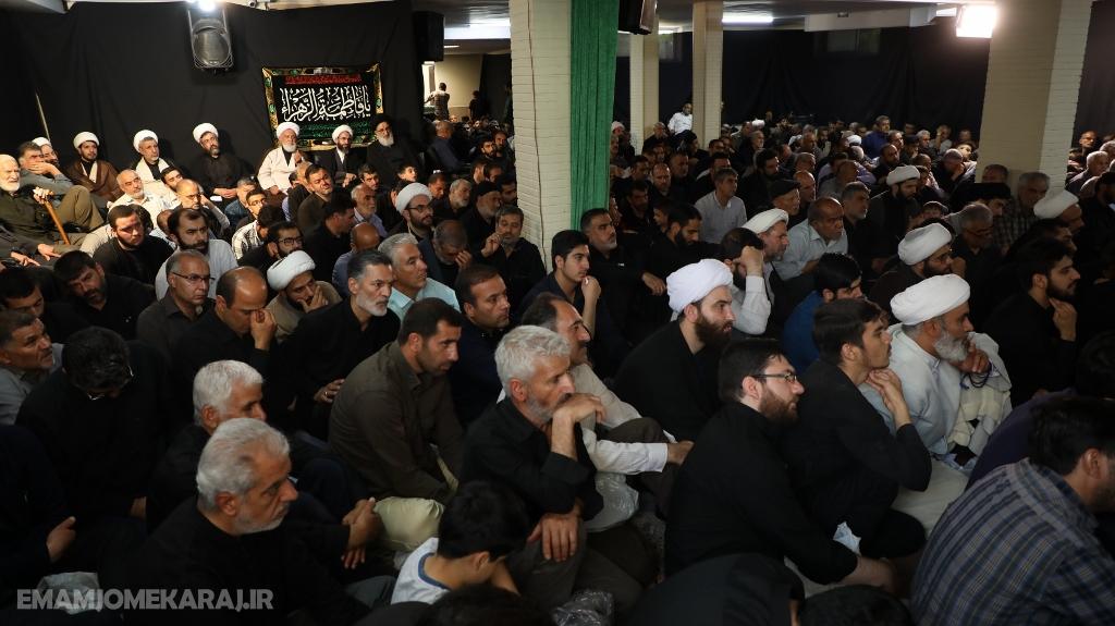 آیین سوگواری شهادت امام صادق (ع) در دفتر امامجمعه کرج برگزار شد