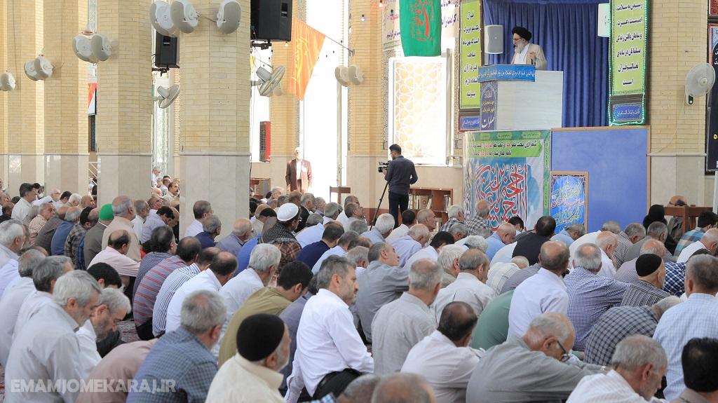 صوت خطبههای نماز جمعه یکم شهریورماه شهرستان کرج