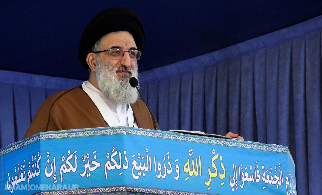 صوت خطبههای نماز جمعه بیست و نهم آذرماه شهرستان کرج