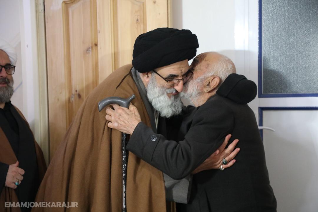 دیدار امامجمعه کرج با خانواده شهدا و ایثارگران اشتهارد