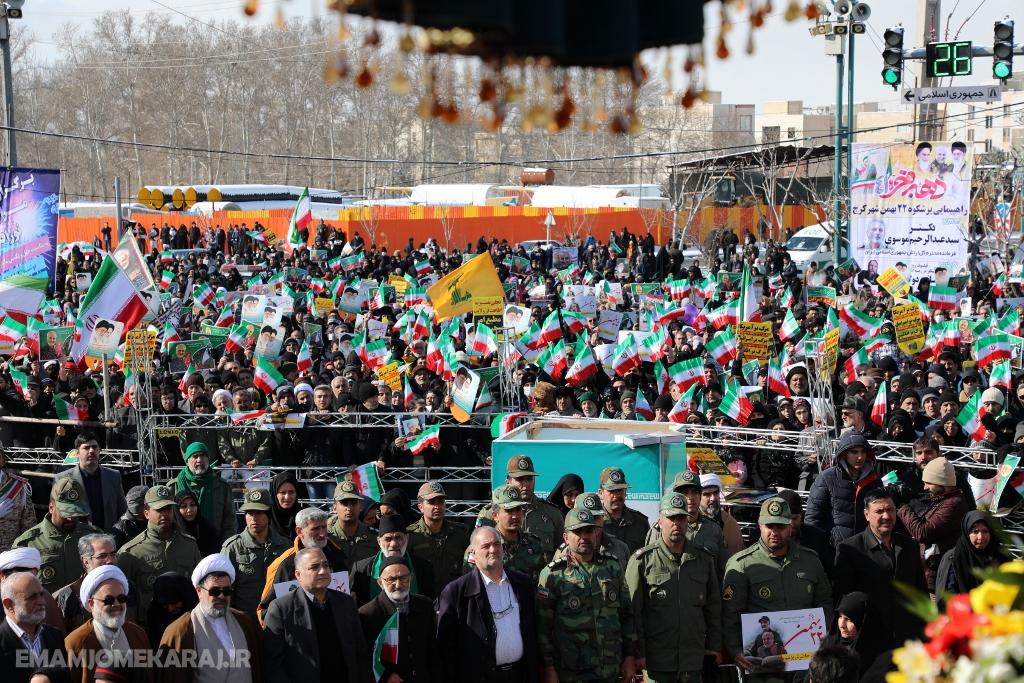 جشن یکسالگی گام دوم انقلاب در استان البرز