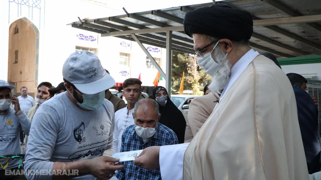 مراسم بدرقه بزرگترین کاروان شادی دوچرخهسواری دانش آموزان البرزی