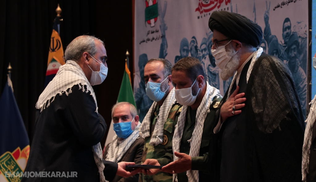 آیین تجلیل و تکریم ۱۷ هزار پیشکسوت دفاع مقدس و مقاومت استان البرز برگزار شد