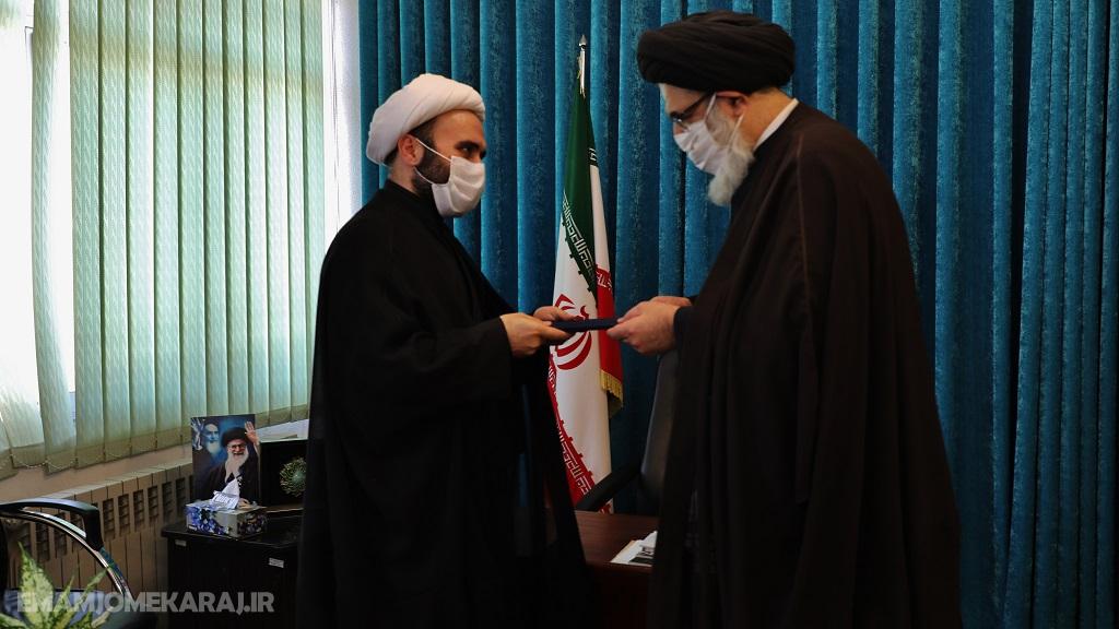انتصاب حجتالاسلام منتج به مدیریت قرارگاه مرکزی جهاد محرومیتزدائی استان البرز