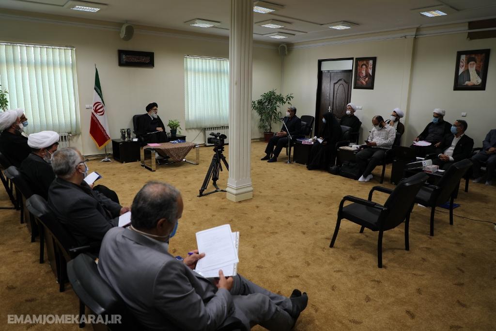 نشست کمیته همکاریهای حوزه علمیه و آموزشوپرورش البرز برگزار شد
