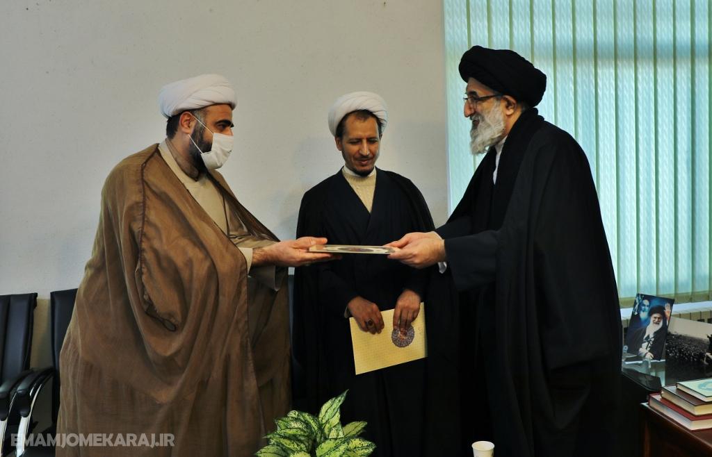 مراسم معارفه سرپرست مرکز رسیدگی به امور مساجد البرز برگزار شد