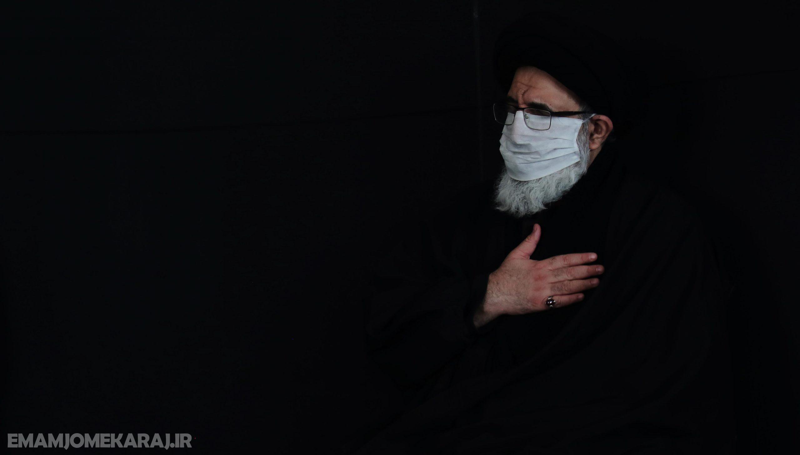 مراسم عزاداری ظهر شهادت حضرت زهرا (سلاماللهعلیها) در مصلی امام خمینی